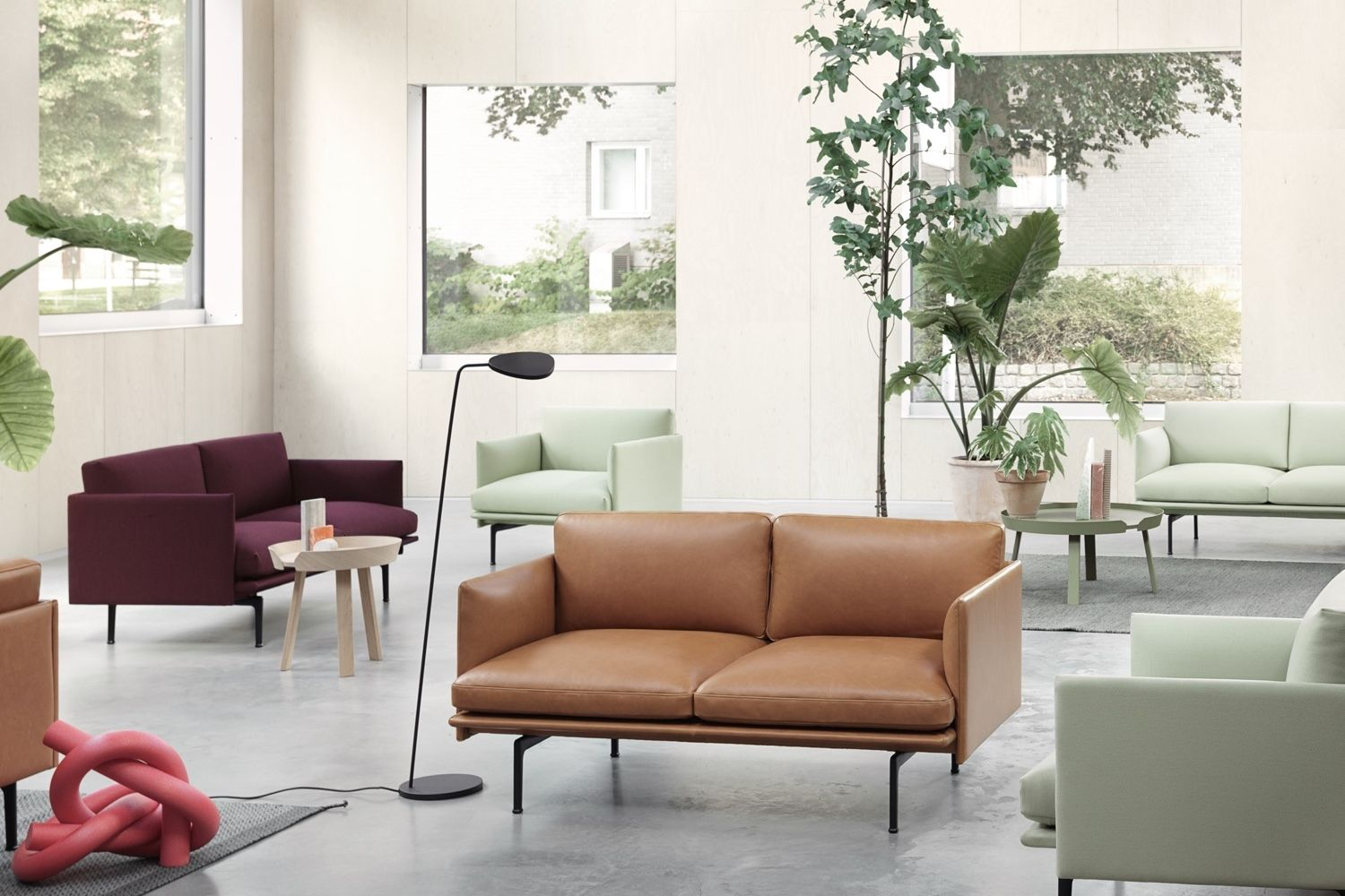 Muuto Outline 2 Seater Sofa