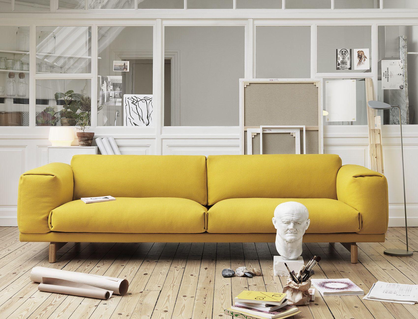 Muuto Rest Sofa - Hallingdal 457