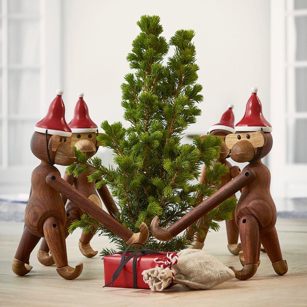 Kay Bojesen Santa's Cap Monkey