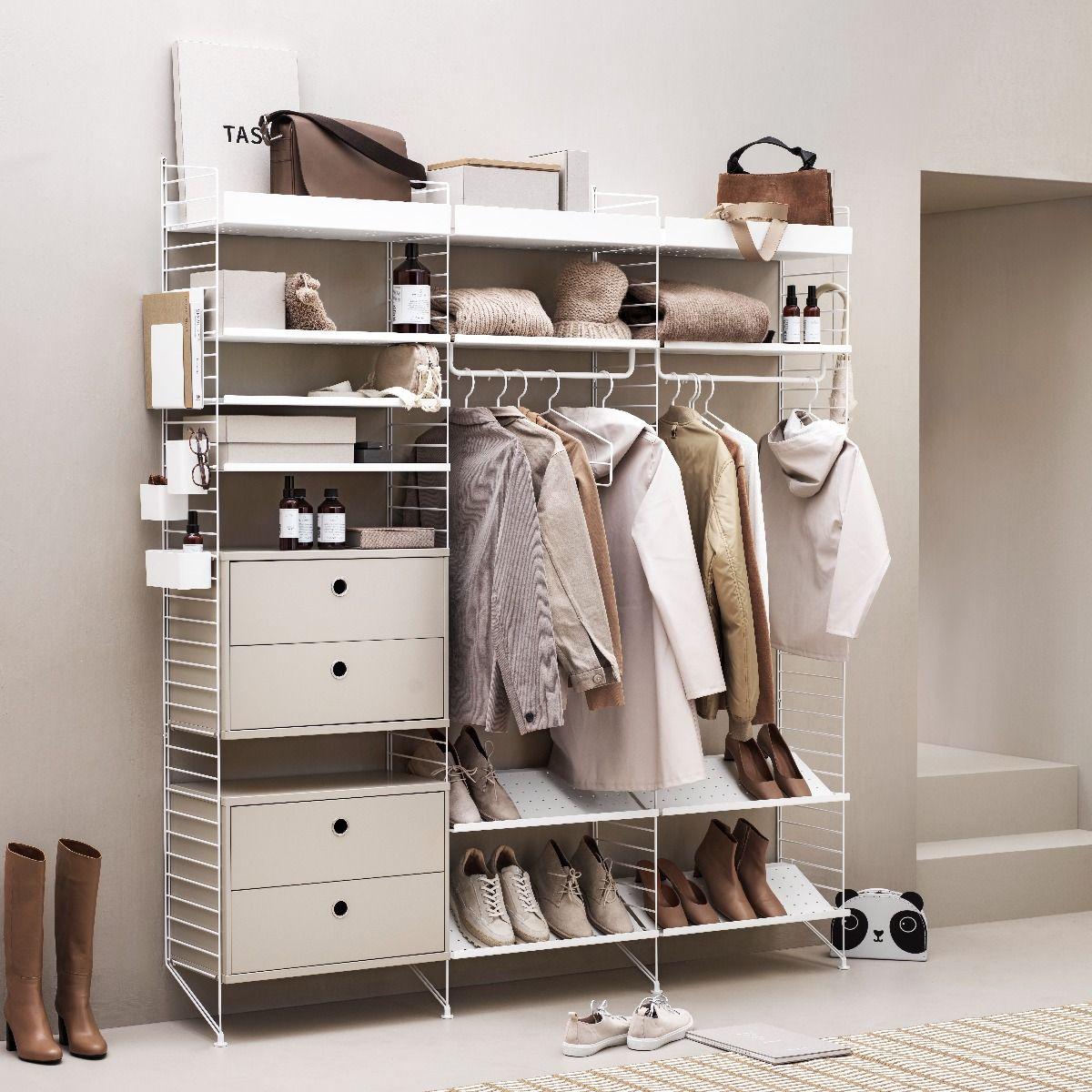String Shoe Shelf 58 x 30cm
