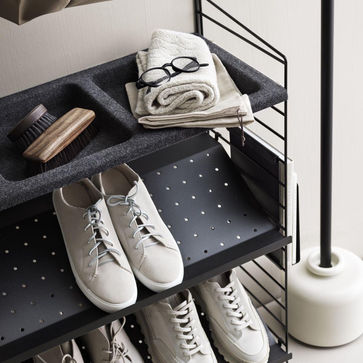 String Shoe Shelf 78 x 30cm