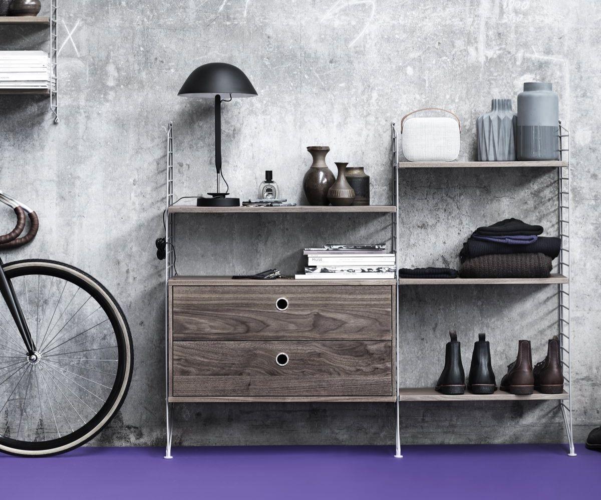 String Drawer Cabinet 78 x 30cm