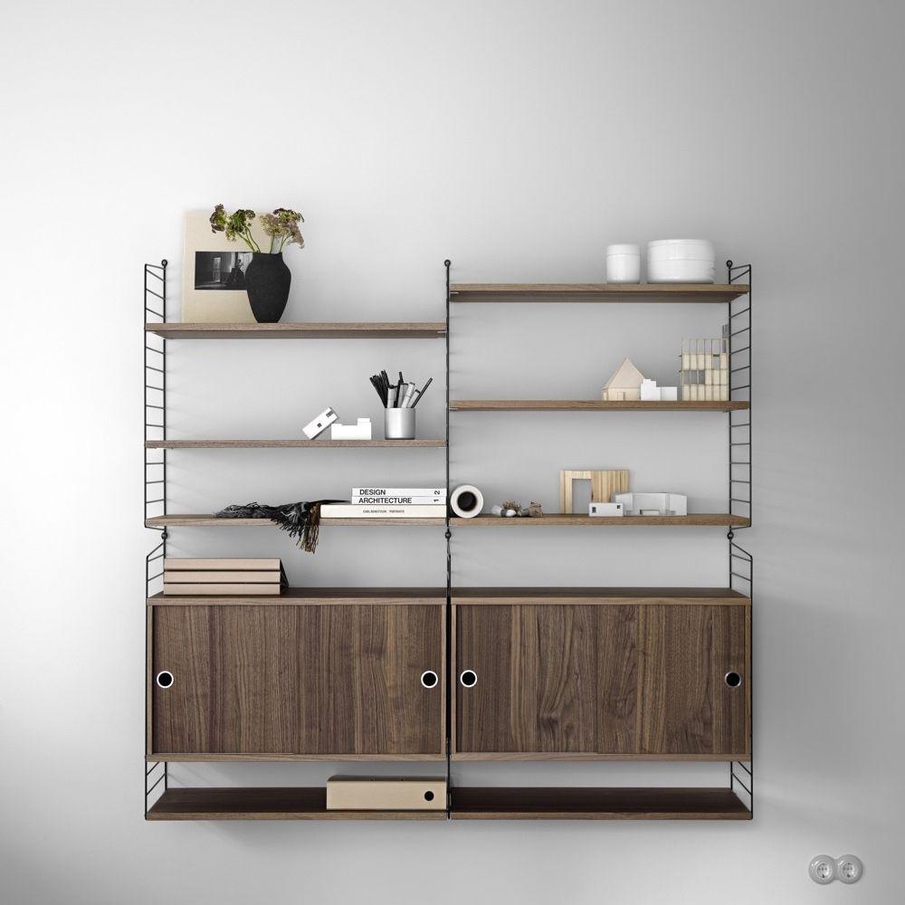 String Shelves 78 x 30cm 3pk