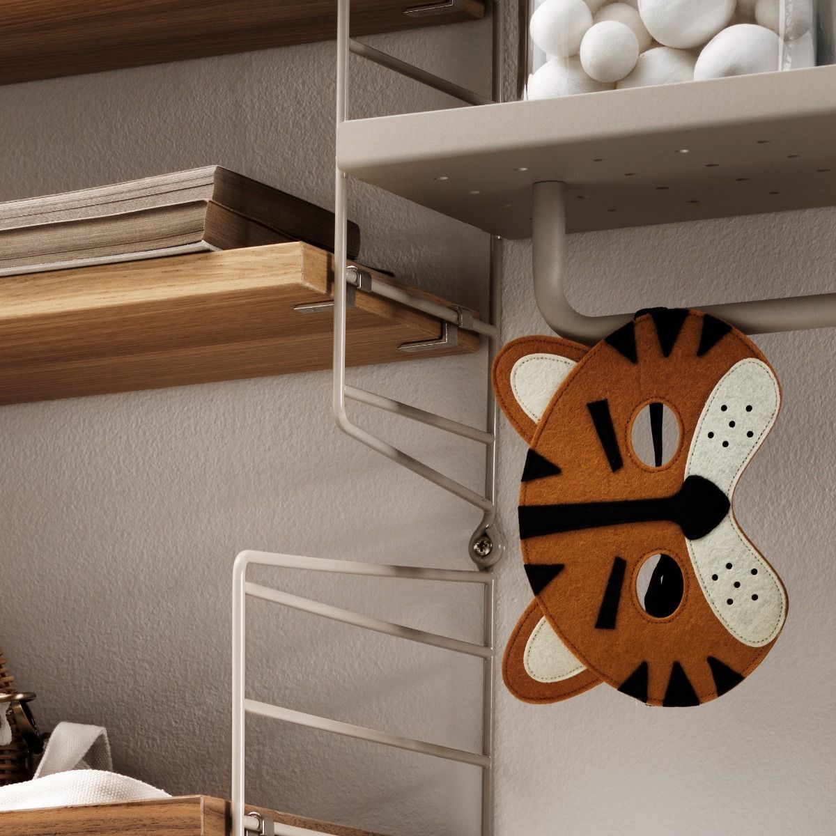 String Metal Shelf 58 x 20cm