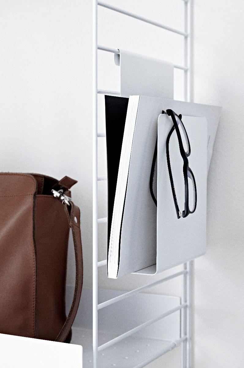 String + Magazine Holder