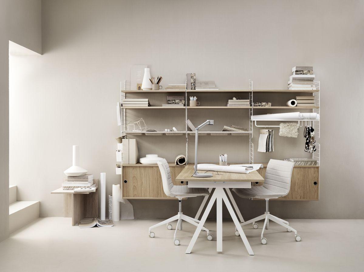 String Works Desk - Height Adjustable
