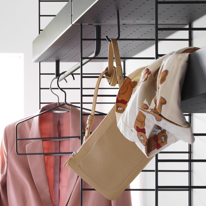 String shelving coat hanger