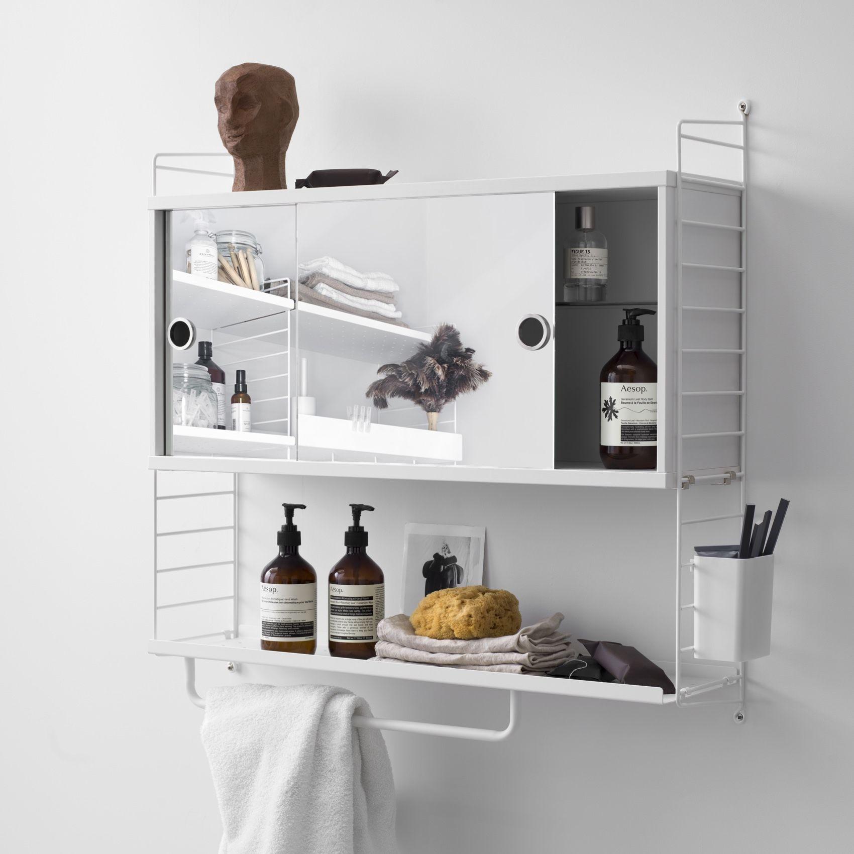 String Bathroom Cabinet