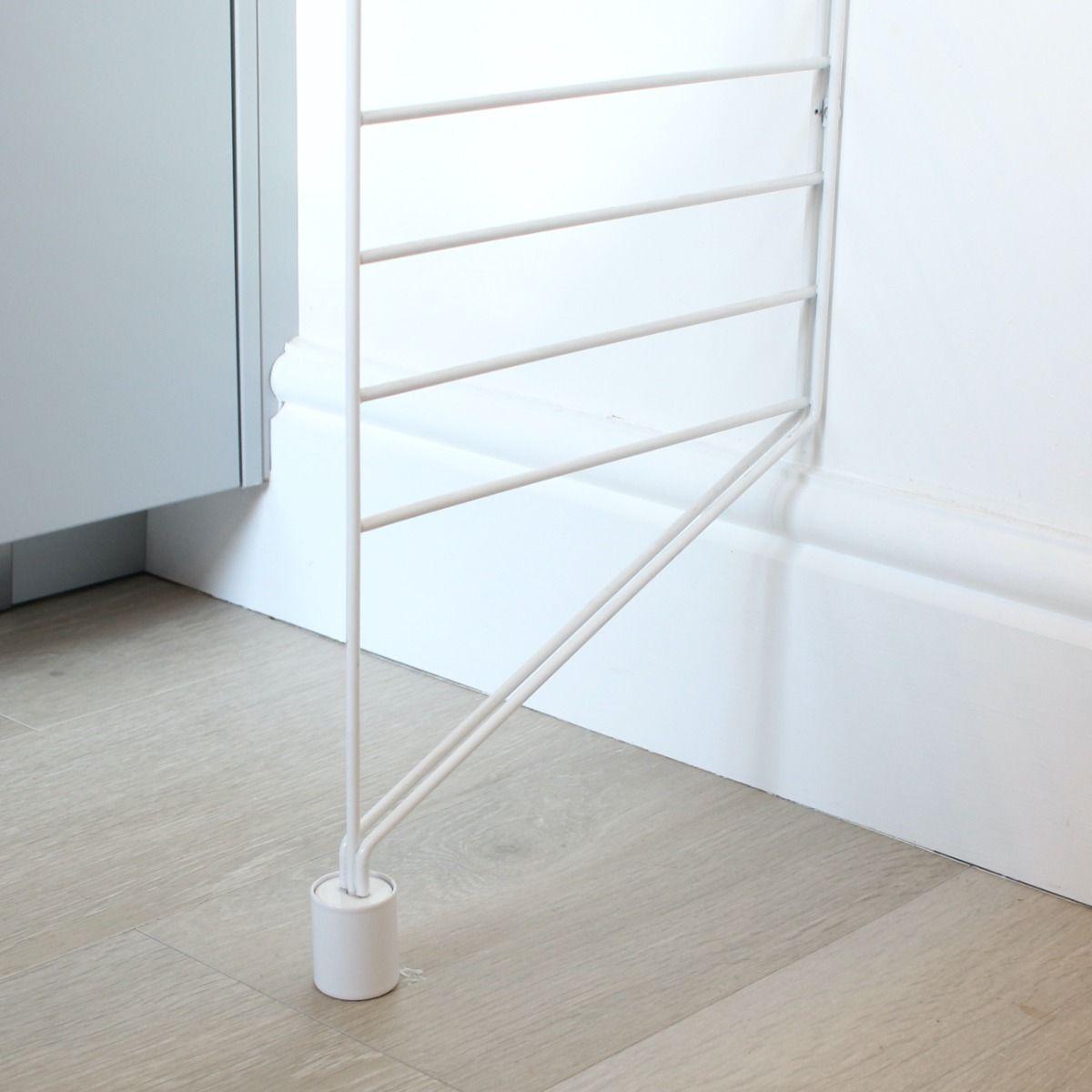 String Shelving Floor Panels Extenders 2PK in a kitchen