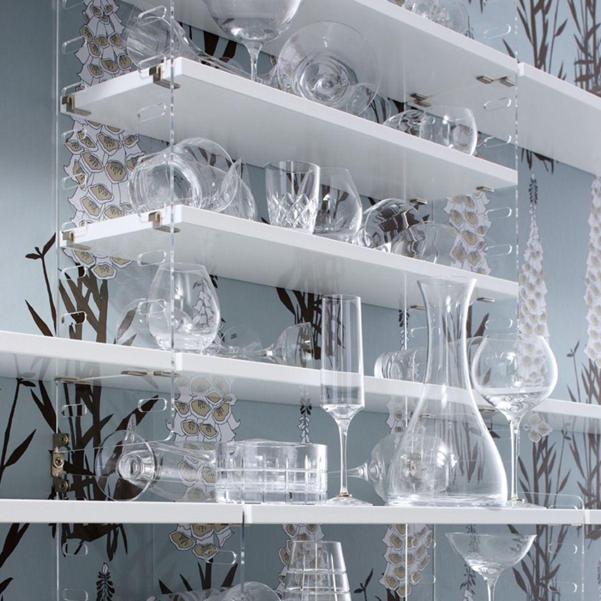 String Shelves 58 x 20cm 3pk