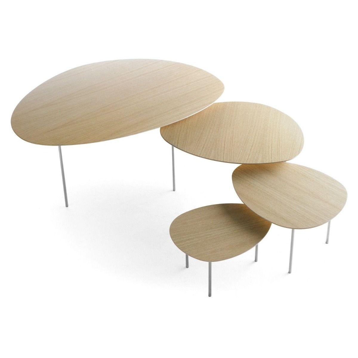 STUA Eclipse Coffee tables oak