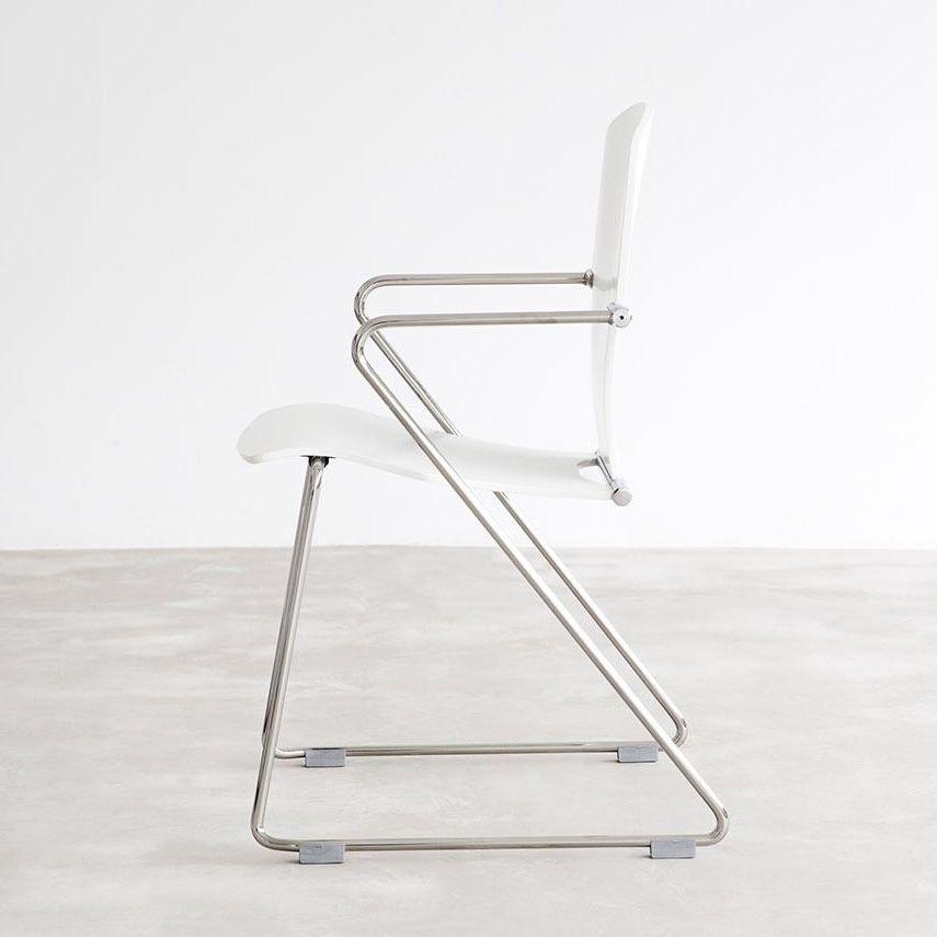 STUA Egoa Chair white Lacquer
