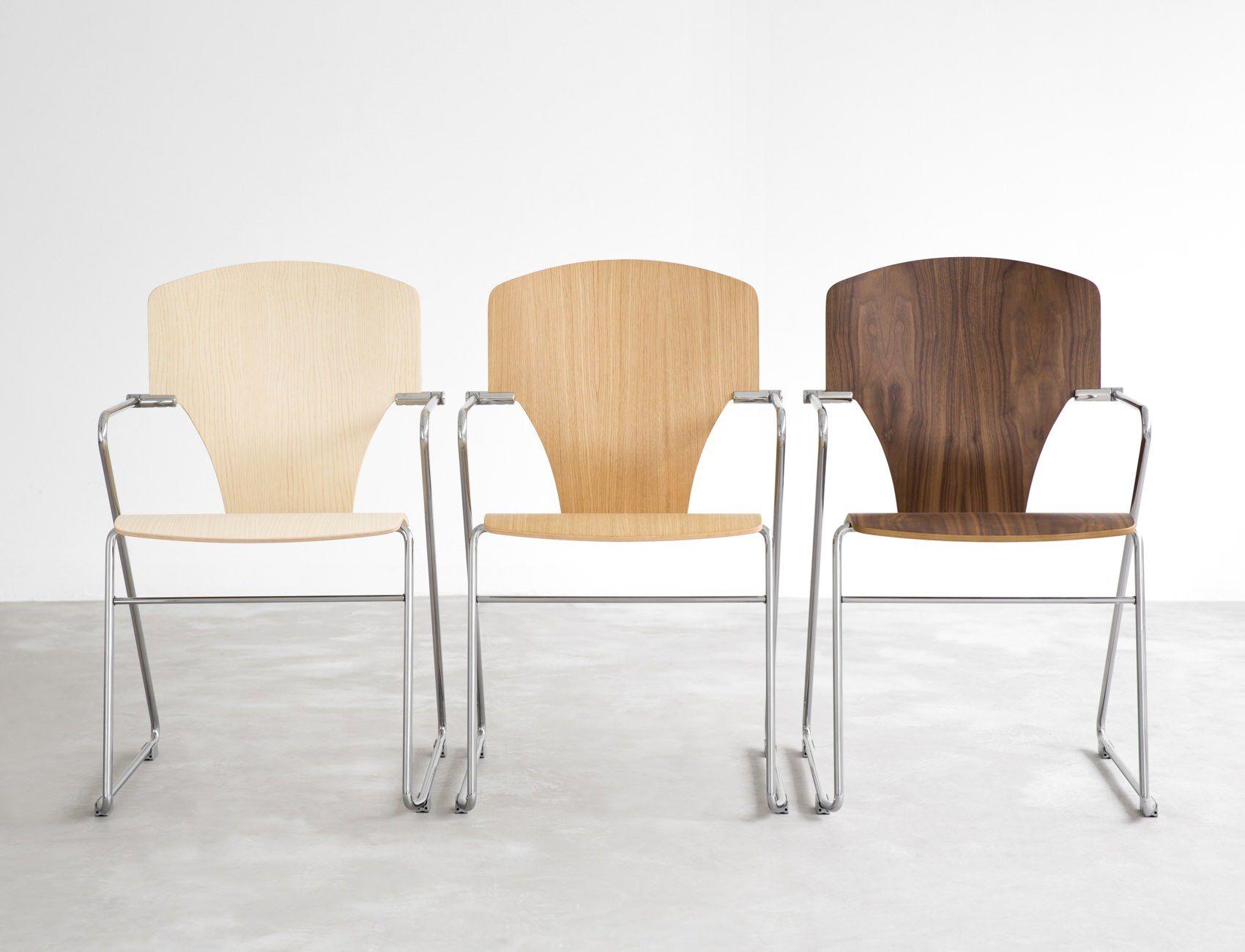 STUA Egoa Chair in ash, oak and walnut