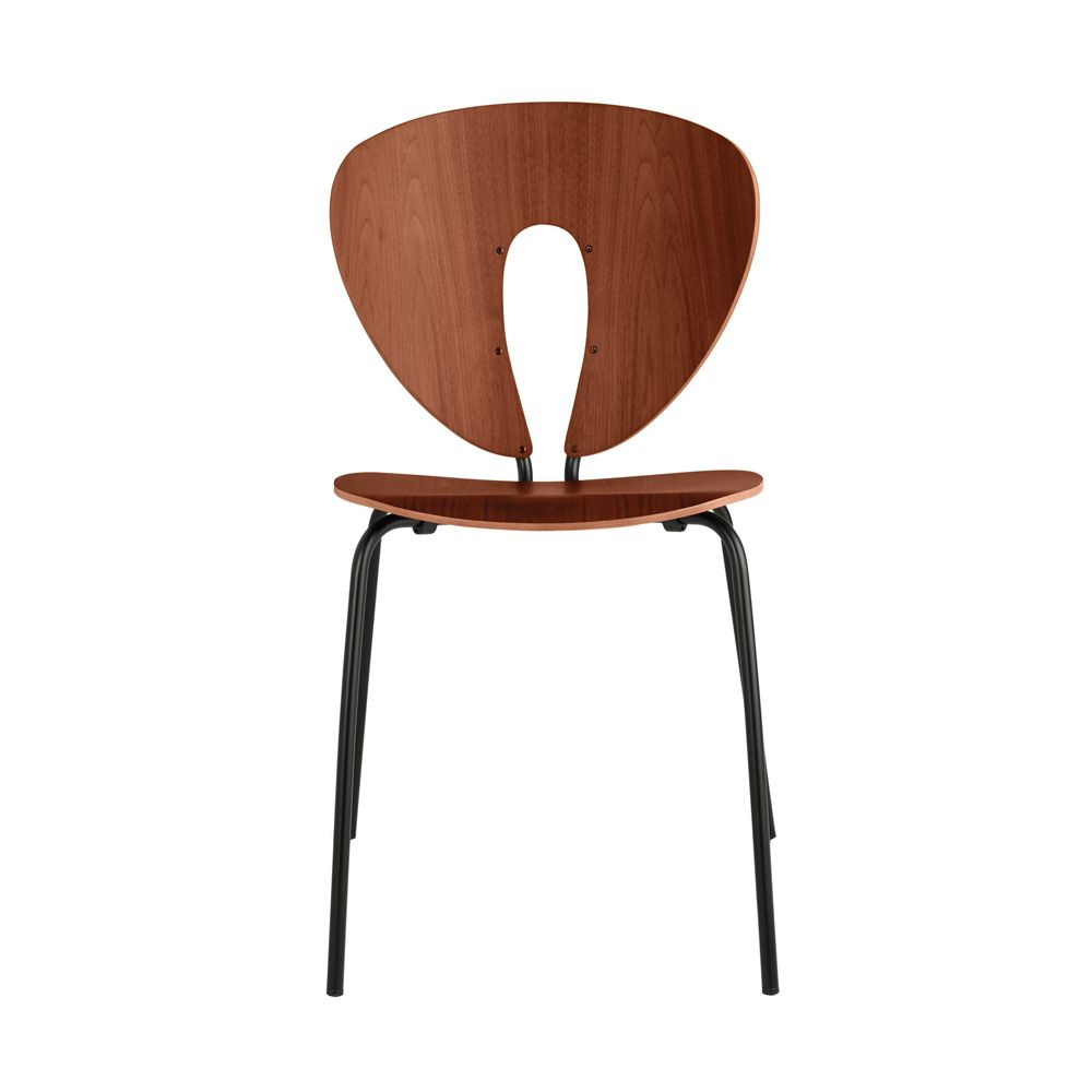 STUA Globus wood chair in walnut