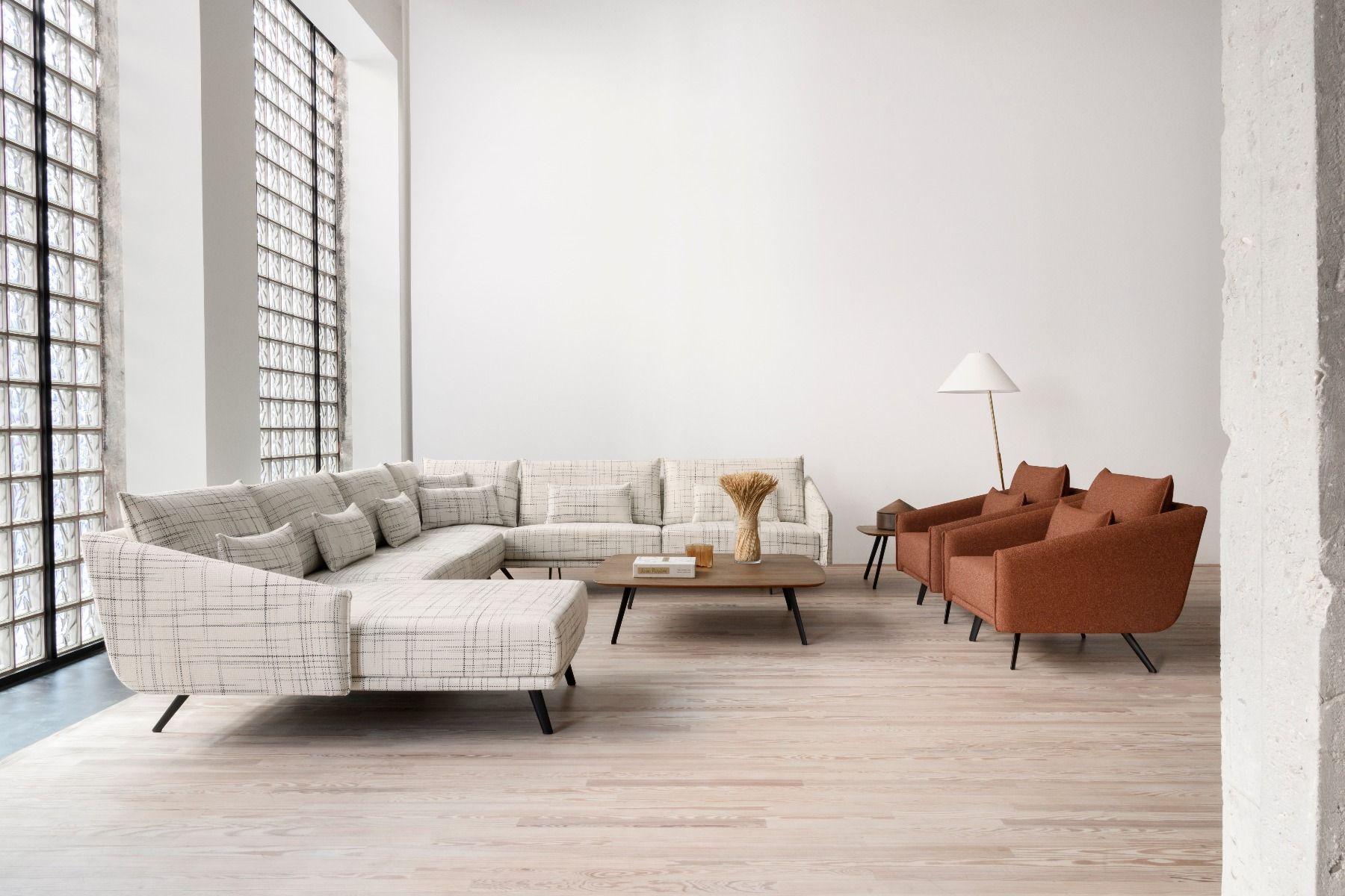 STUA Costura Sofa Chaise Longue corner unit