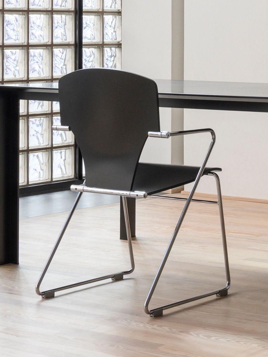 STUA Egoa Chair black Laquer