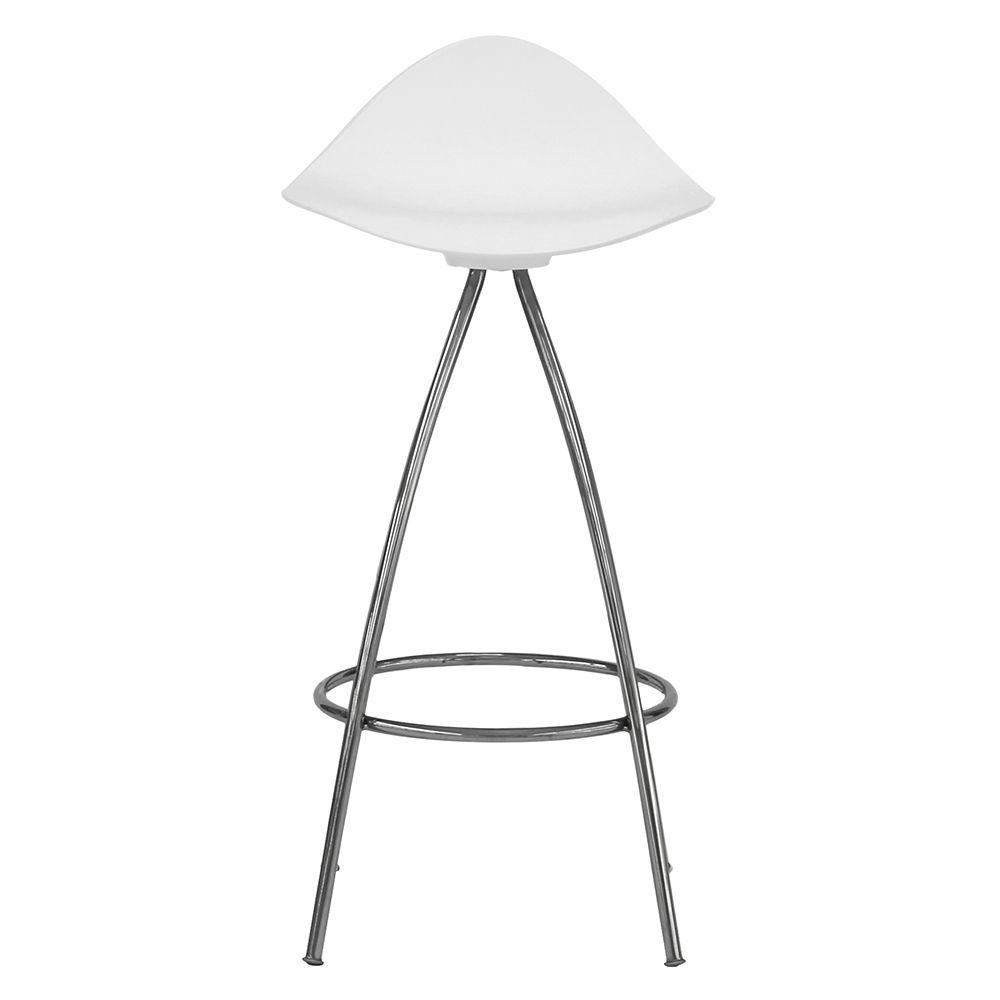STUA onda swivel monochrome bar stool