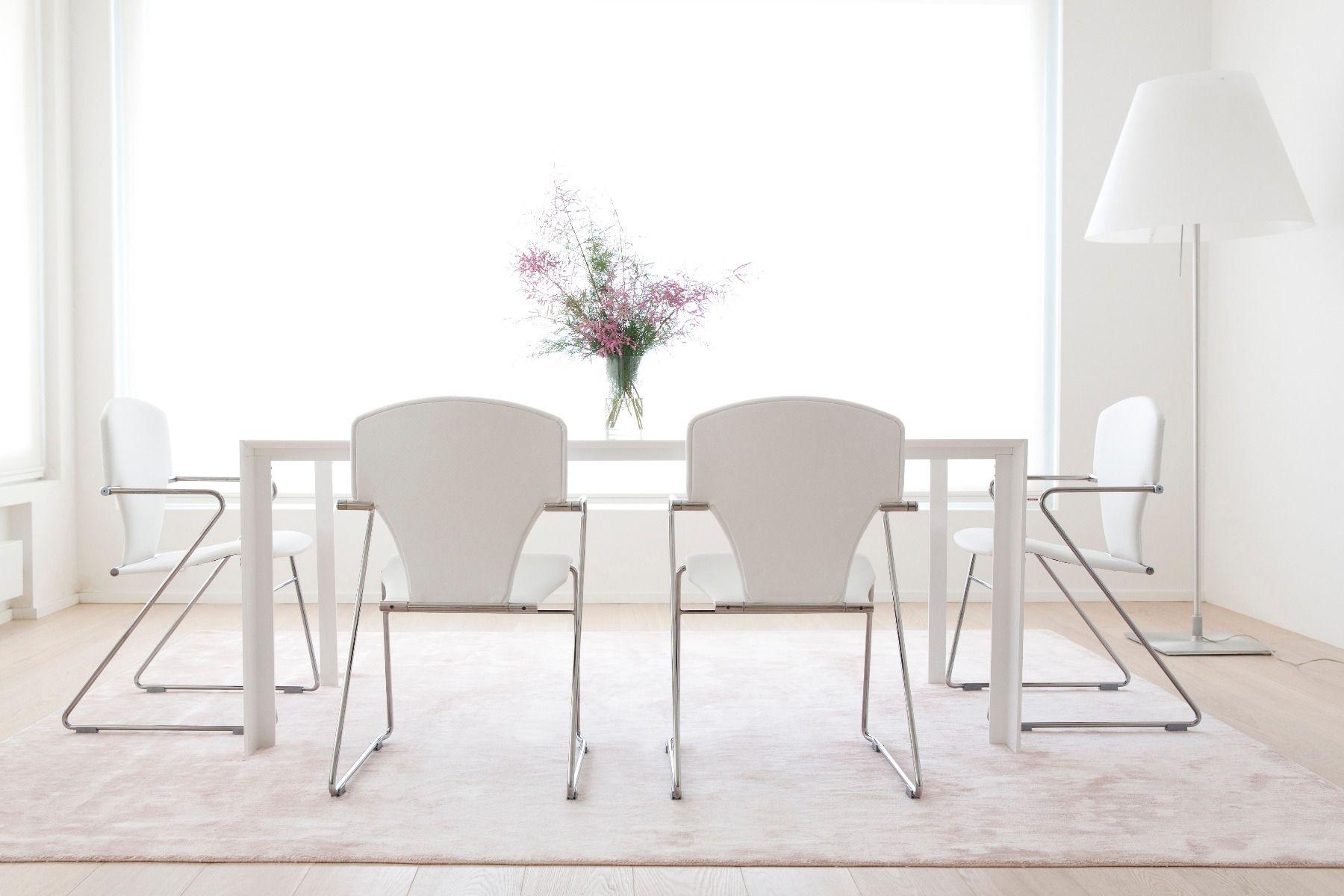 STUA Egoa Chair white in a white interior