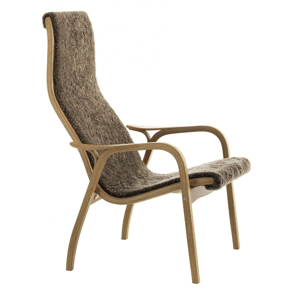 Lamino Easy Chair in oak and sahara
