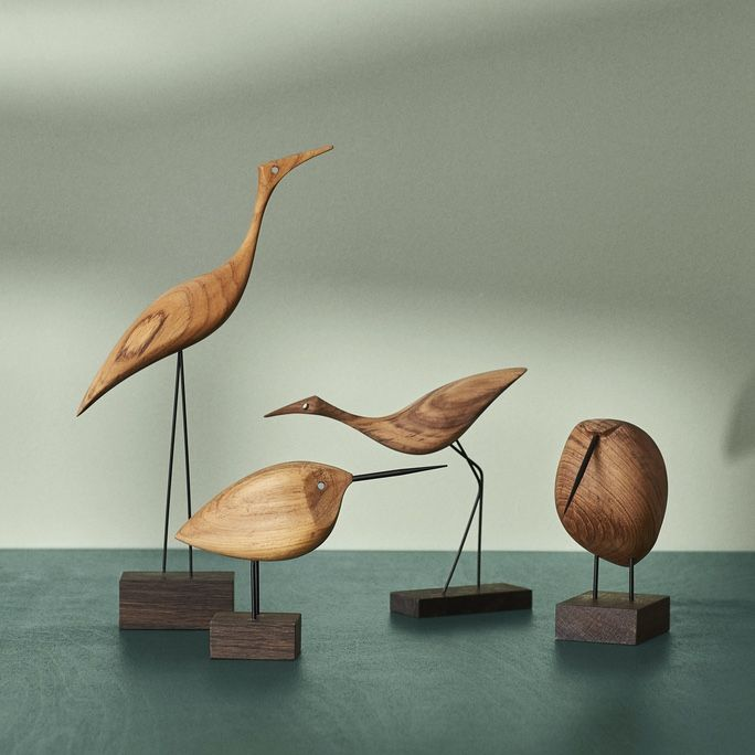 Warm Nordic Beak Birds collection
