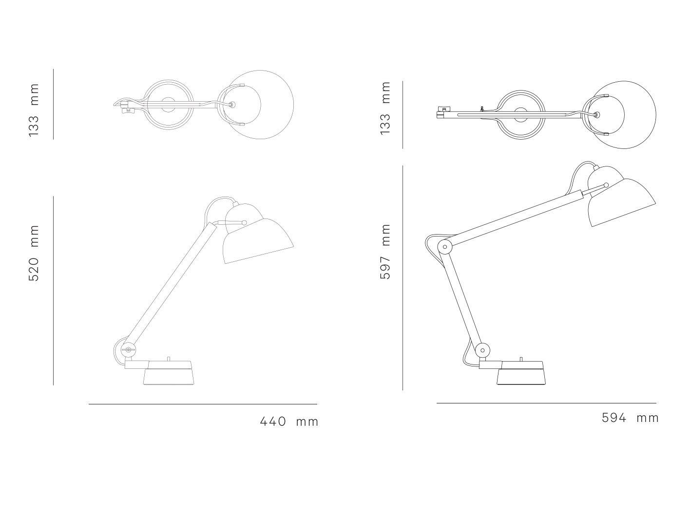 Wästberg Studioilse w084 Table Light-dimension-file