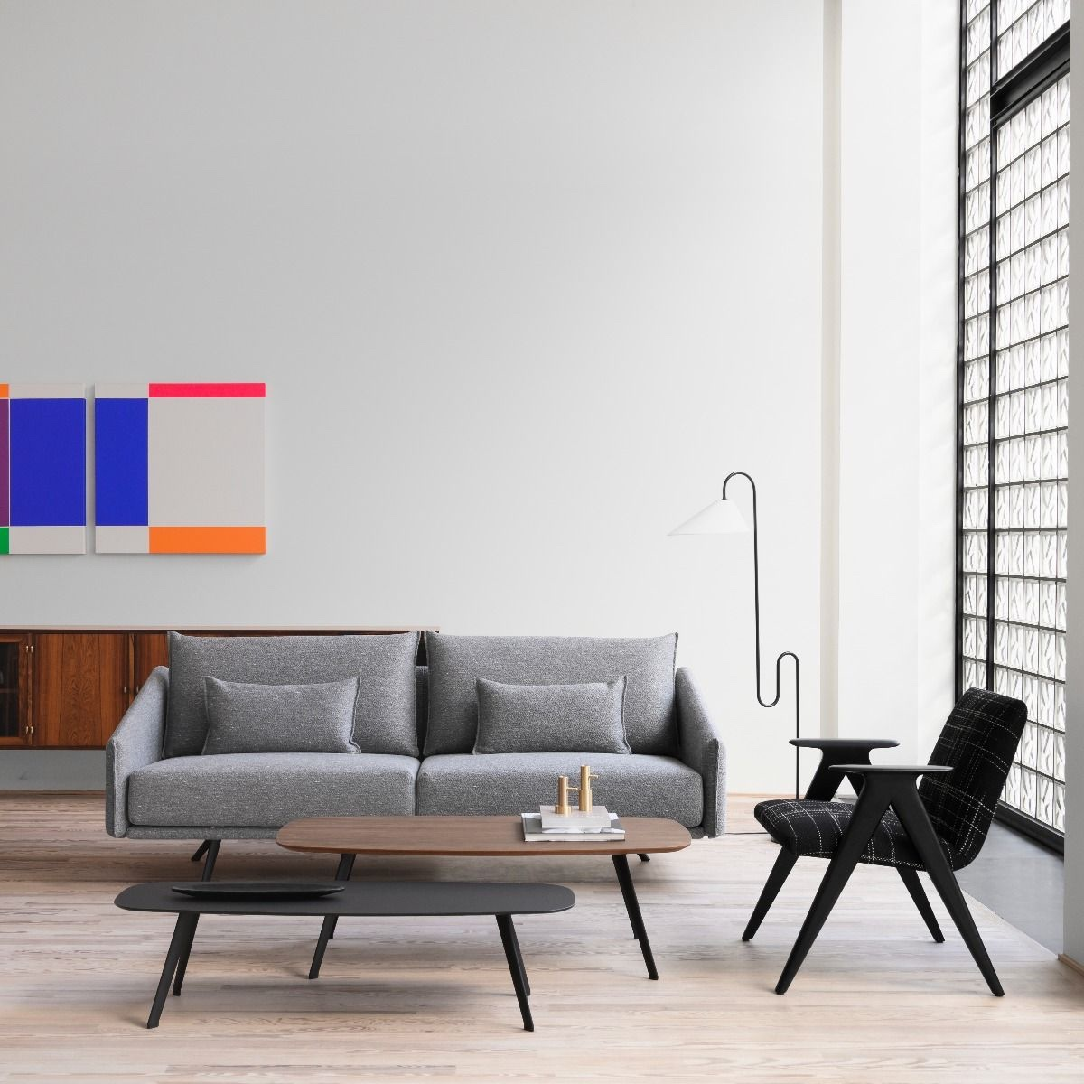 Perfect Partners - Sofa and Chair Combo