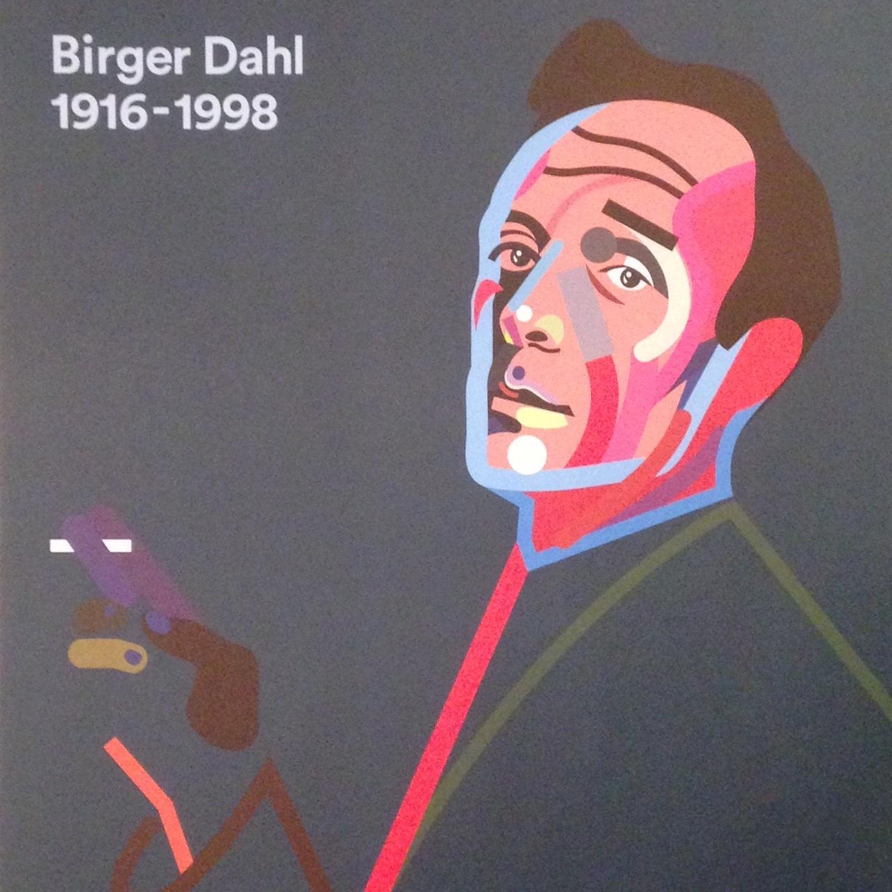 Birger Dahl poster 1916-1998