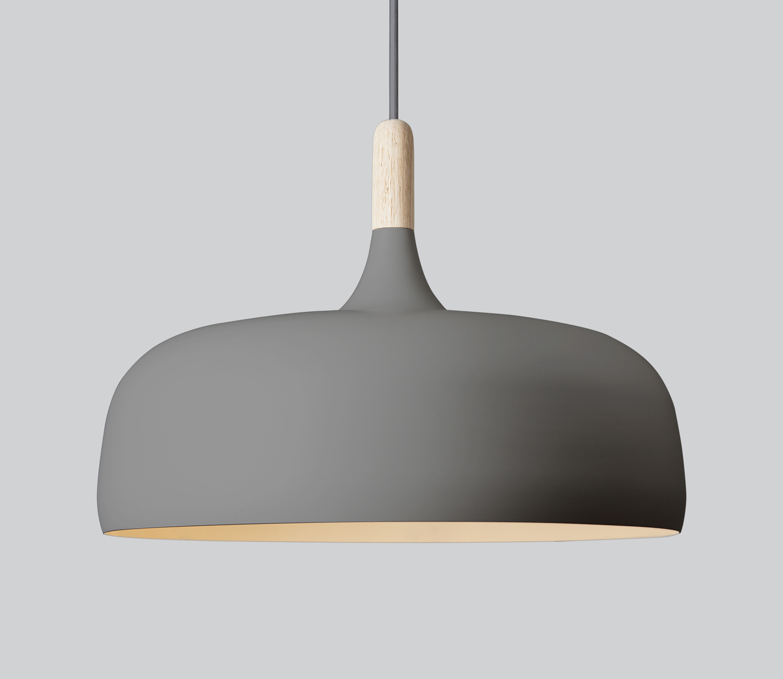 Northern Lighting Acorn Pendant Light in Grey
