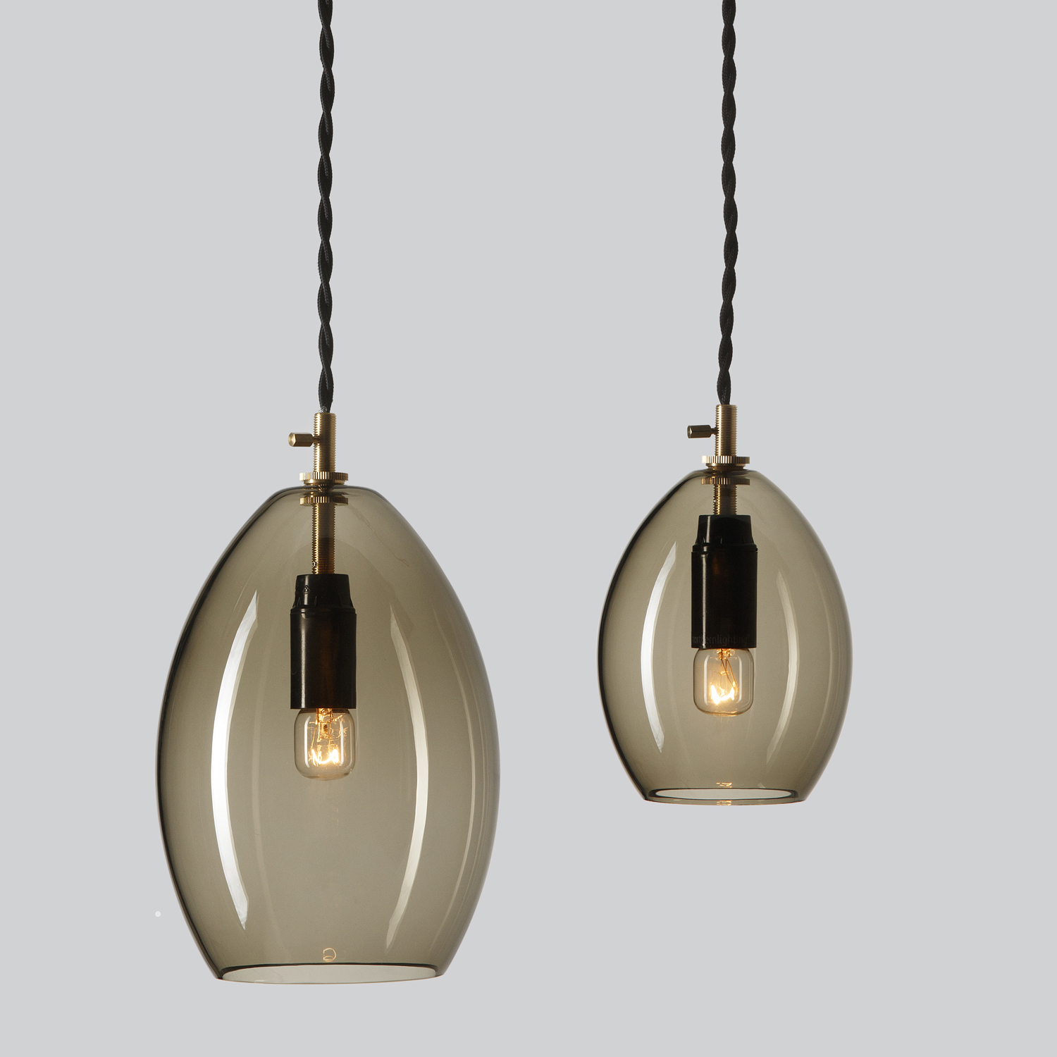 Northern Lighting Unika Pendant Light in Grey
