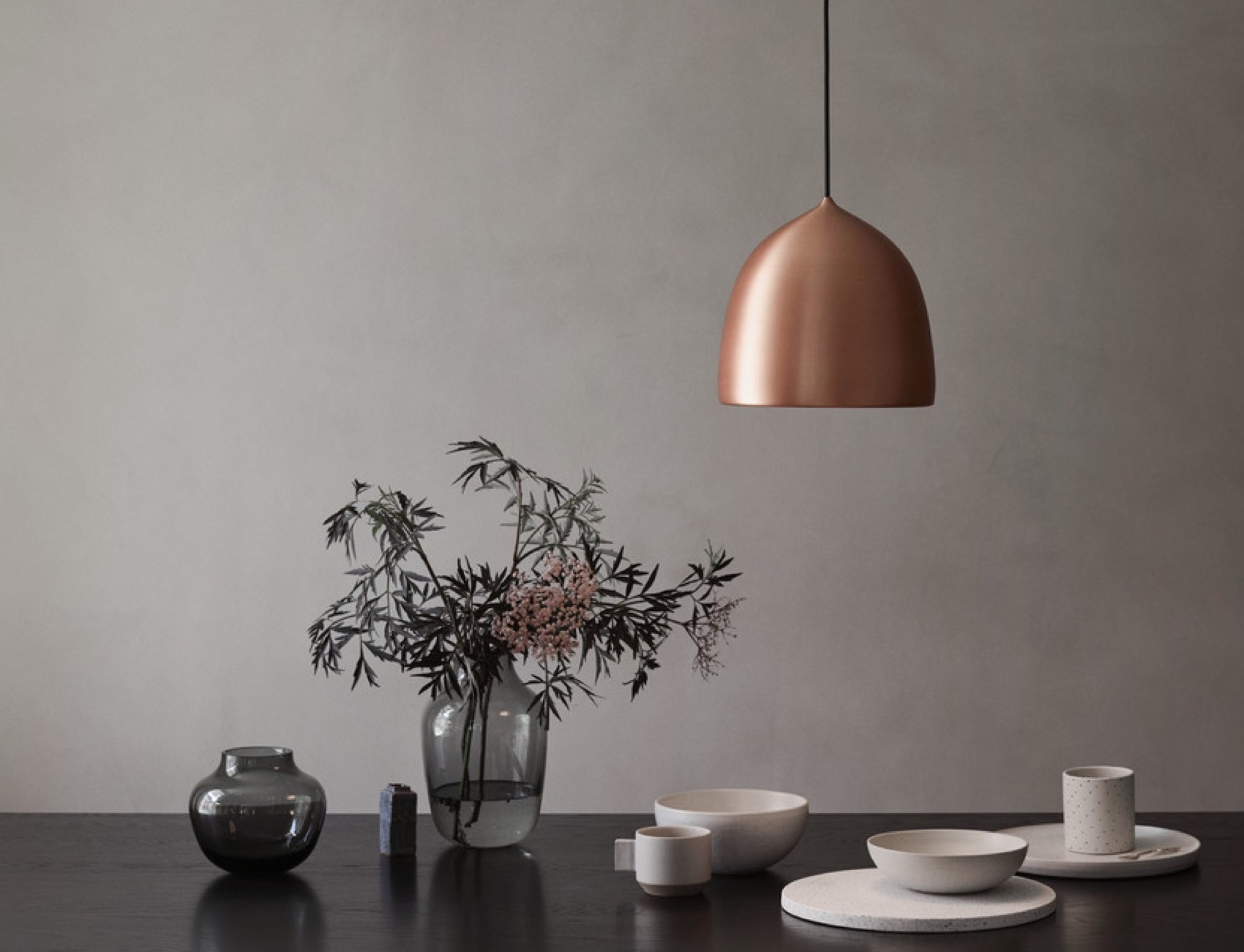 Lightyears Suspence Copper Pendant Light