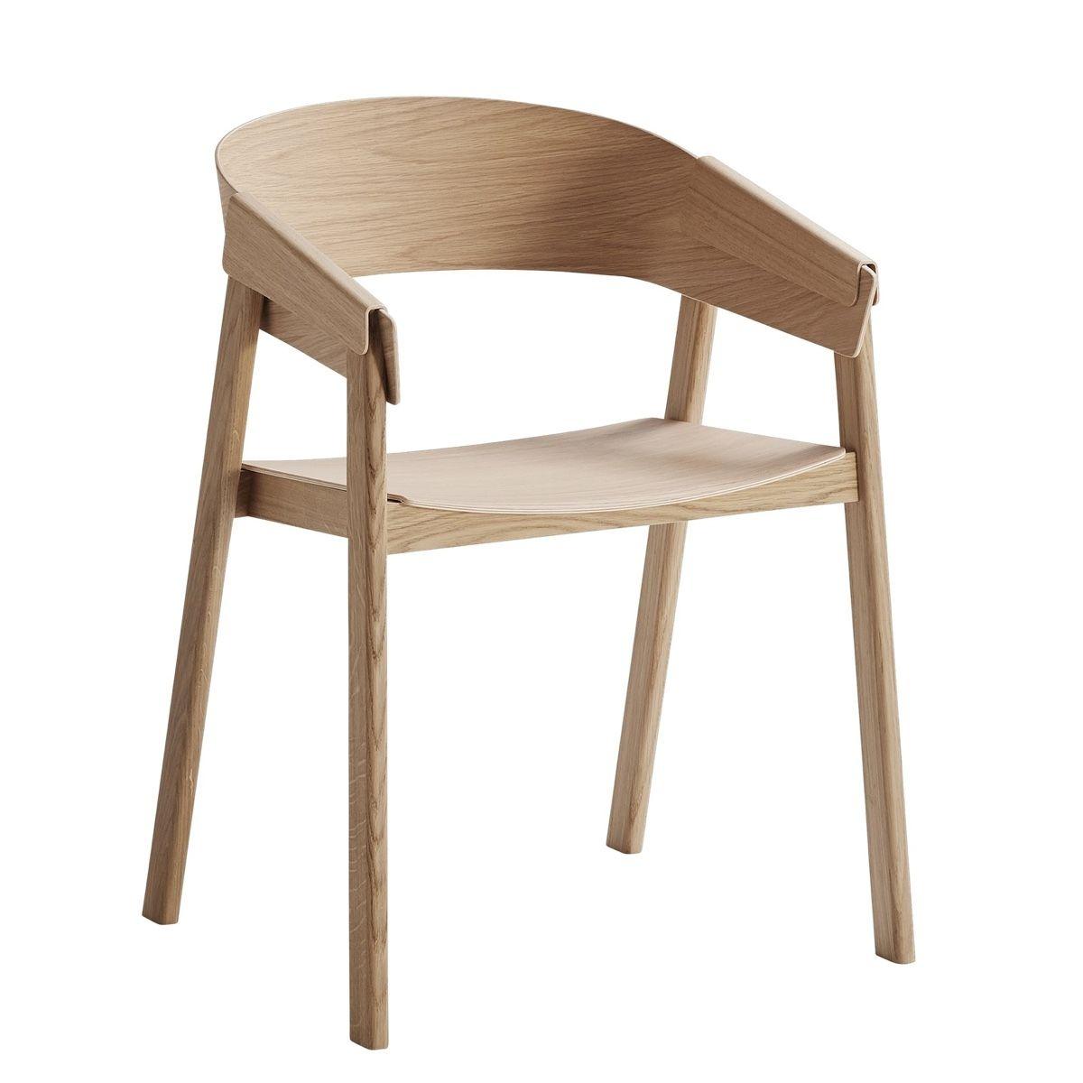 muuto cover chair in oak