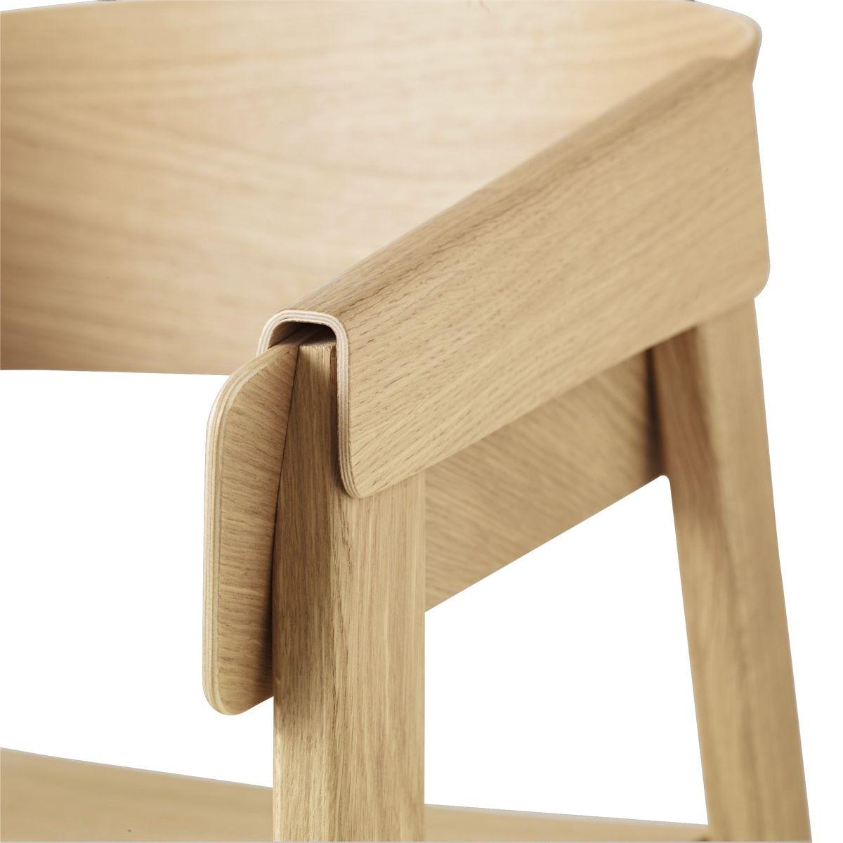 Muuto cover chair arm detail