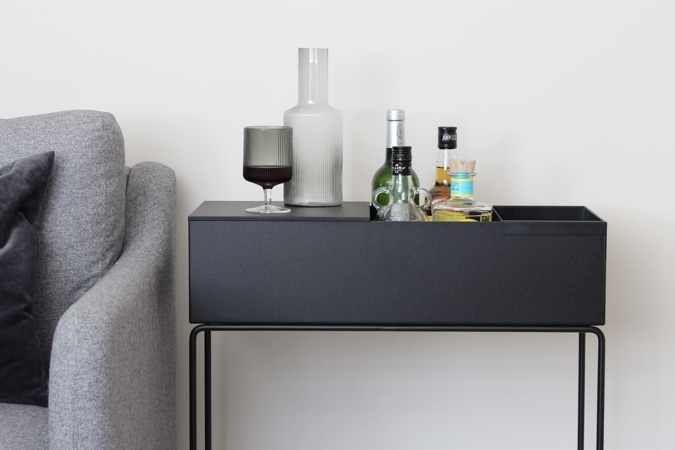ferm living plant box drinks table