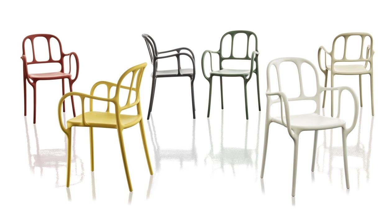 Magis Mila Chair Catalan Modernism