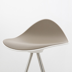 Stua Onda taupe bar stool