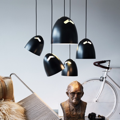 Bell plus pendant light